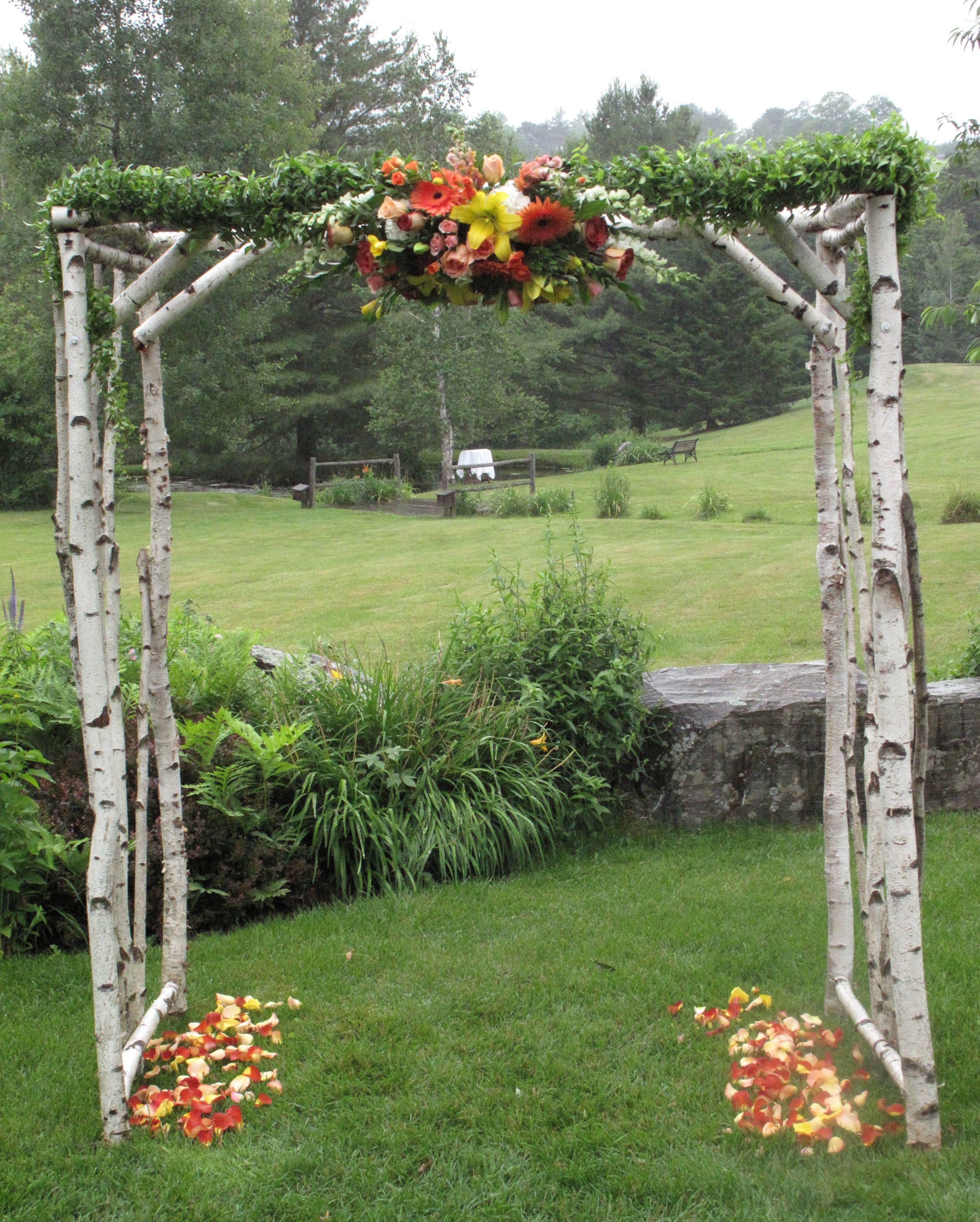 Rustic Wedding Arbors: Rustic Wedding Arbor .. Vermont