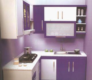 Interior Rumah Minimalis Berwarna Ungu Home Pinterest