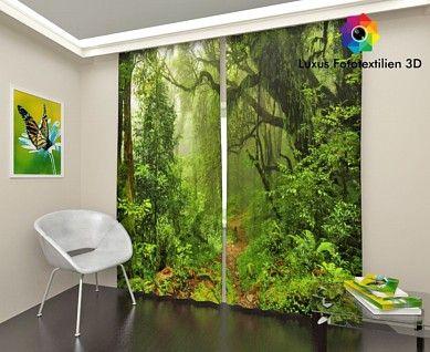 Fotogardinen Foto-Vorhang Gardine Vorhänge Luxus Fotodruck 3D Alle - grose fenster wohnzimmer