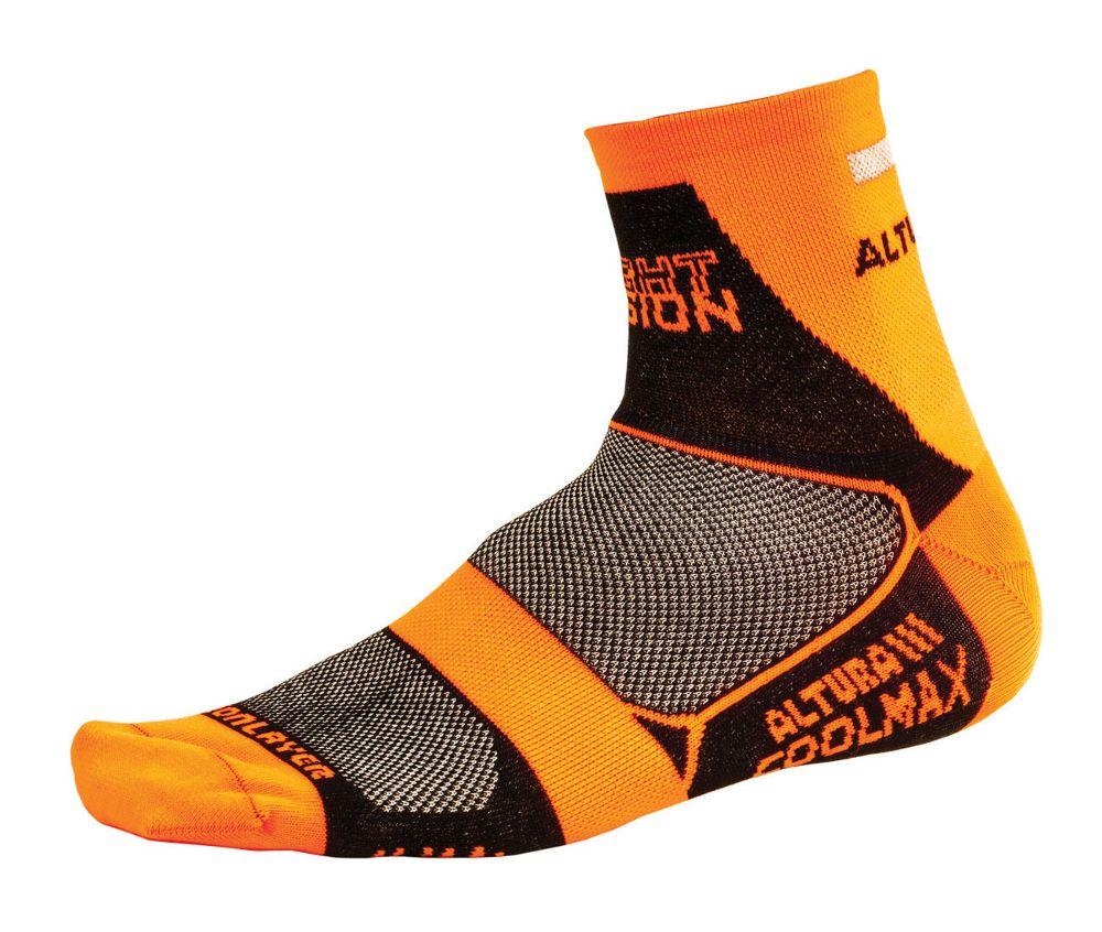 Altura Night Vision Cycling Socks Yellow