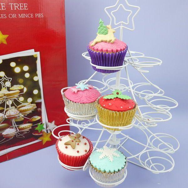 20 Cupcake Christmas Tree Stand