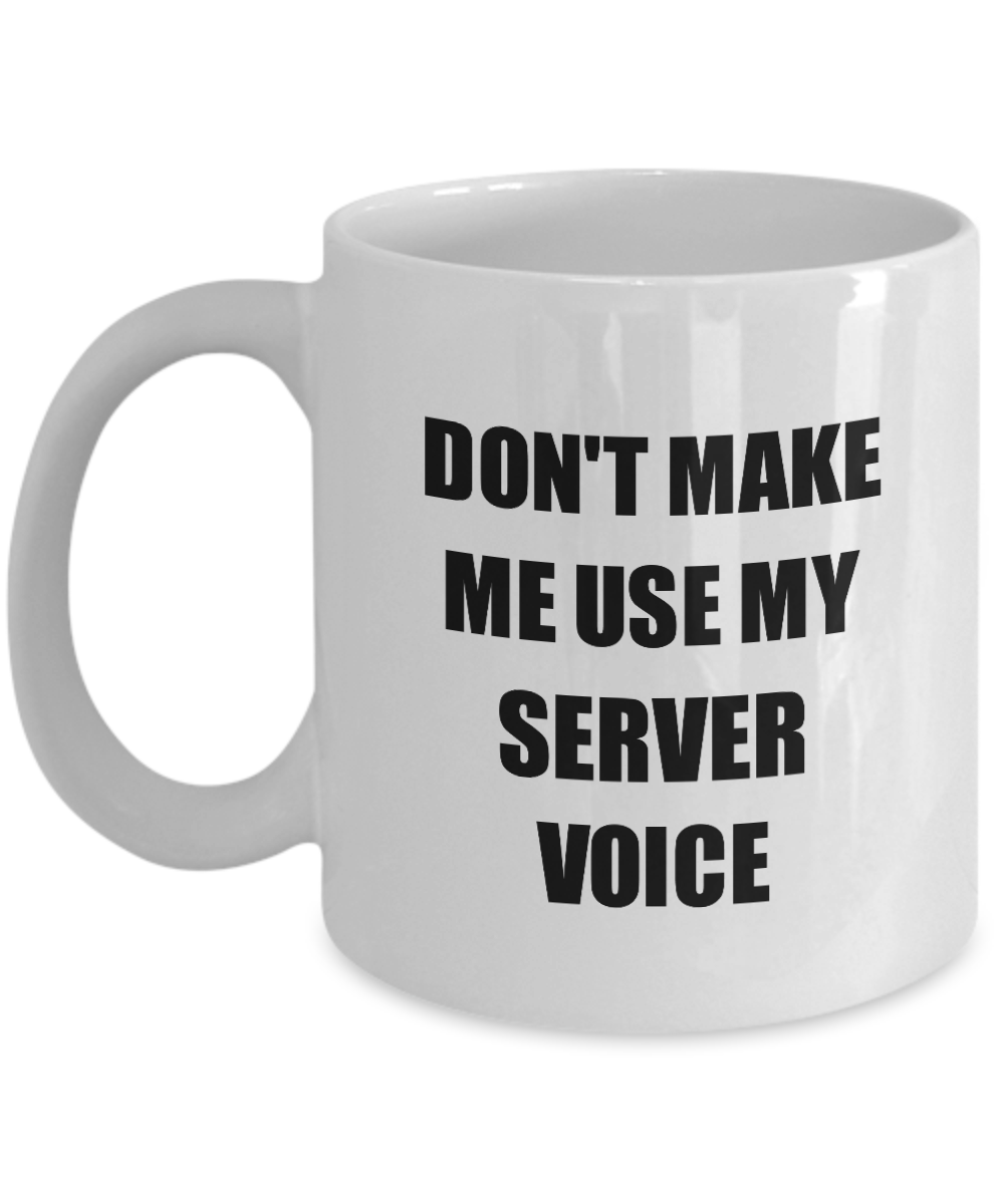 Server Mug Coworker Gift Idea Funny Gag For Job Coffee Tea Cup #Server #Server #Mug #Coworker #Gift