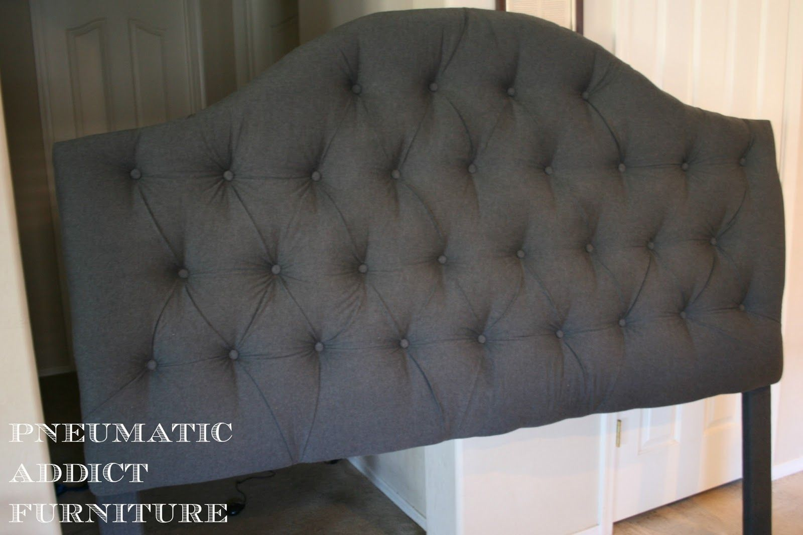 Tufting a Headboard the EASY Way | Ideas for House | Pinterest ...