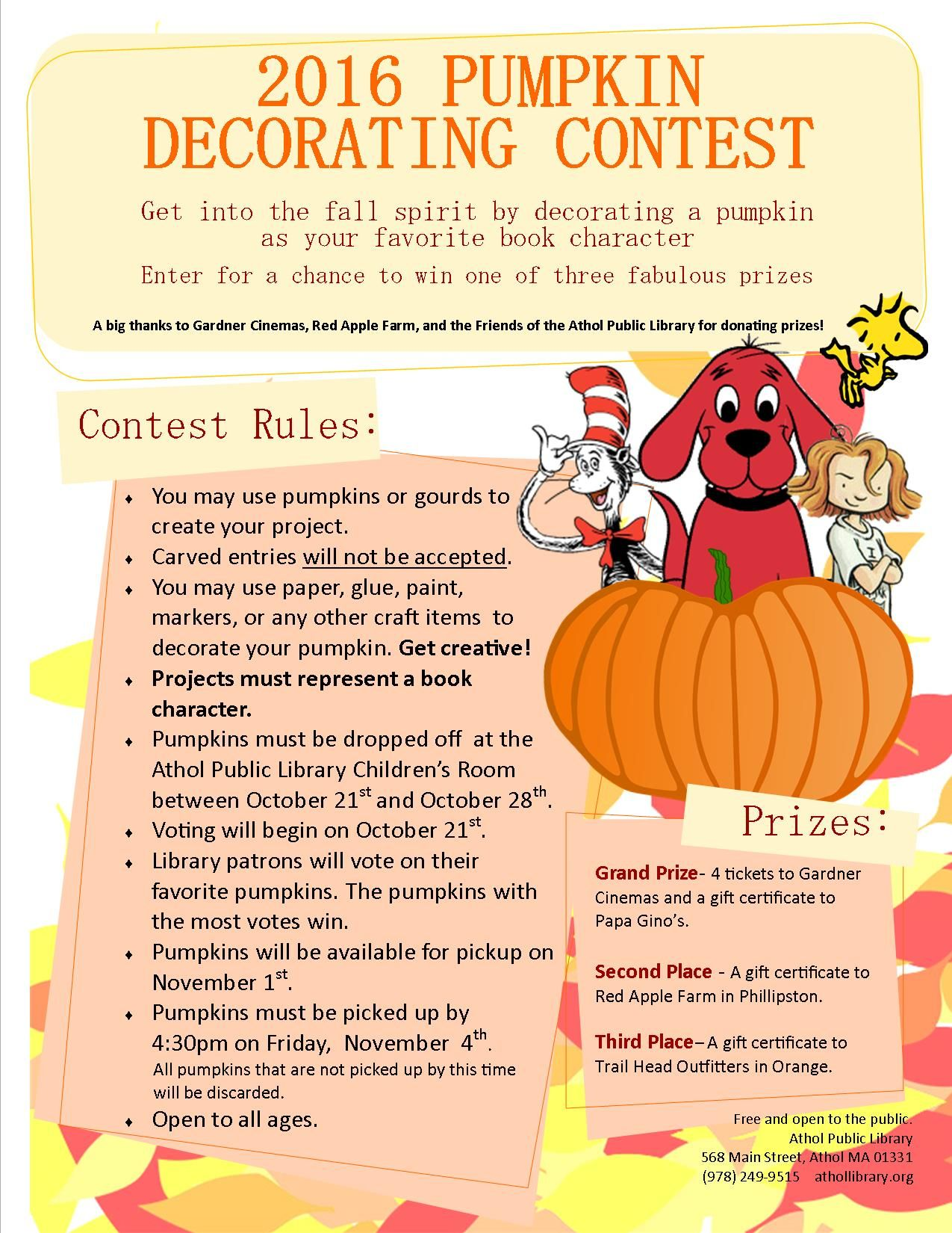 image result for pumpkin decorating contest flyer | work | pinterest