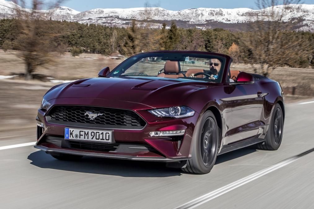 2018 Ford Mustang Ecoboost Convertible Review Ford Mustang