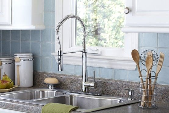 Giagni Caterina Stainless Steel 1 Handle Pull Down Kitchen Faucet