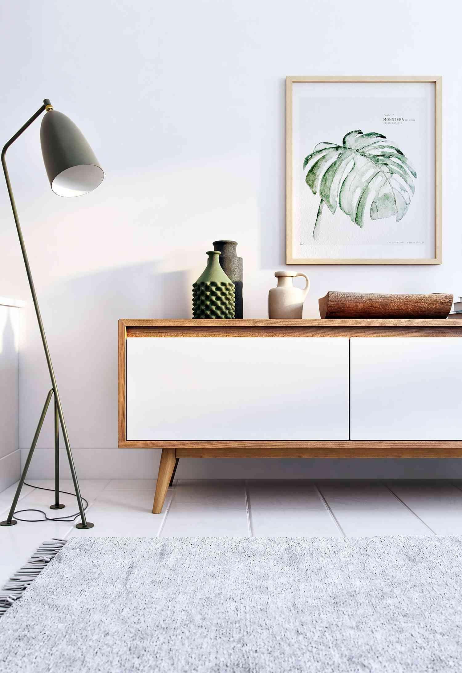 Modern Wood Tv Stand Showcase Design: 50+ Mid Century Modern Living Room Design Ideas 2019
