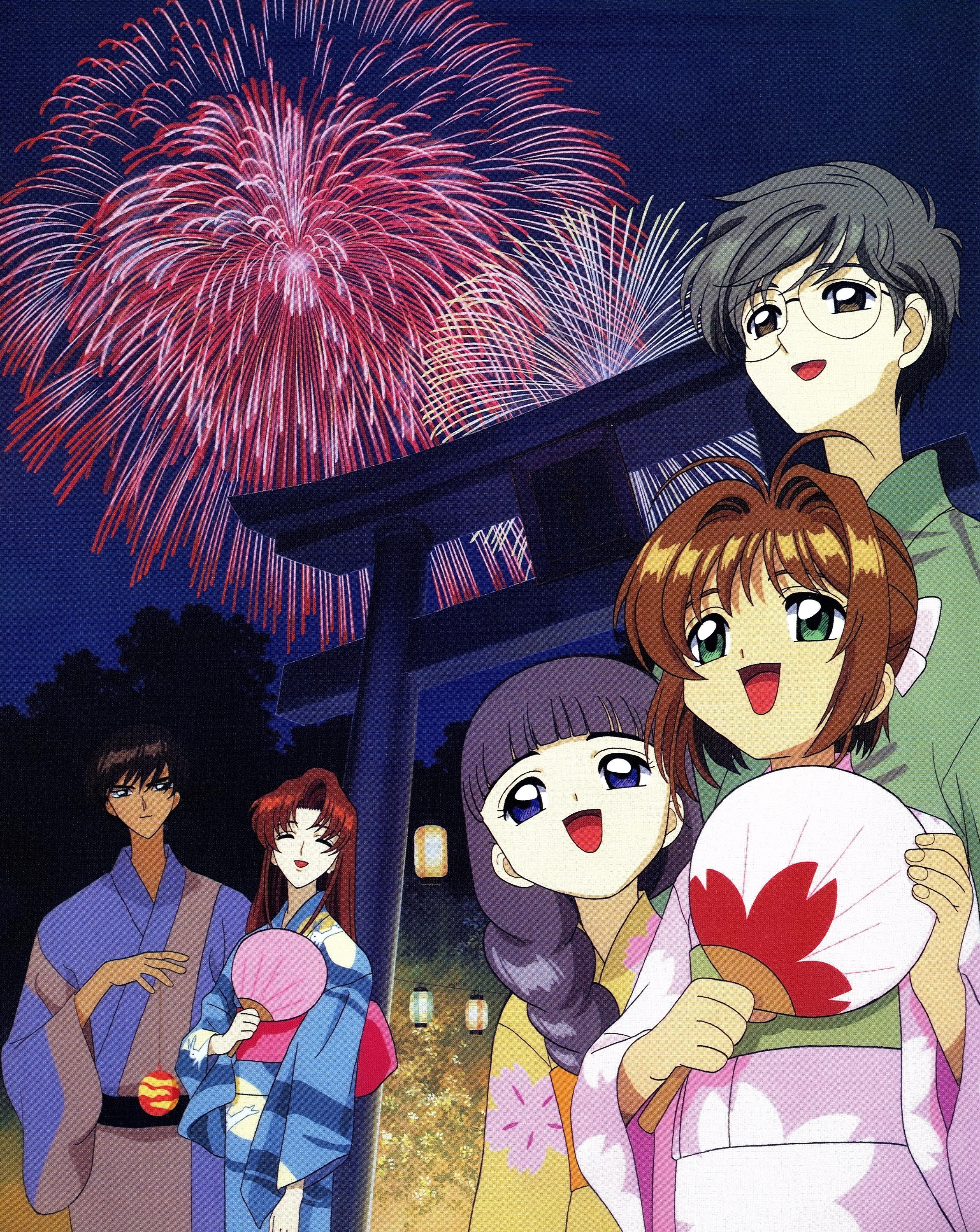 Touya, Kaho, Tomoyo, Sakura et Yukito