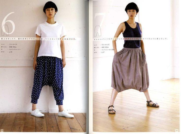Japanese style dress pattern