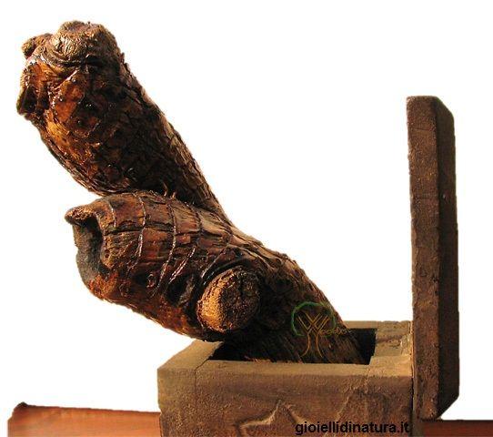 """""""TestOcchio"""", Woodys©. Scultura legno."""