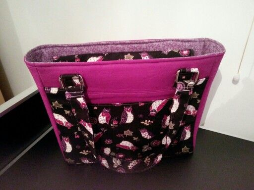 Conference tote bag. From so sew easy