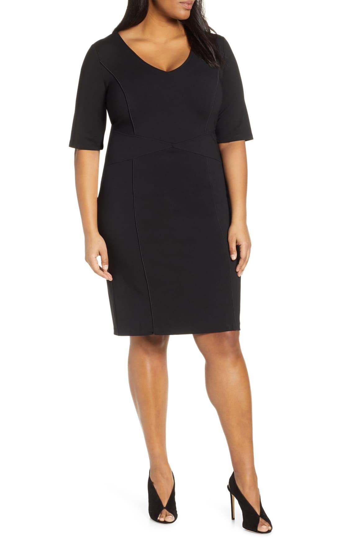 21++ Plus size sheath dress ideas