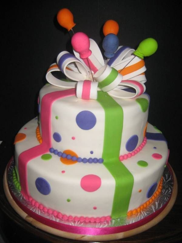 Images Of Birthday Cake And Balloons : Birthday Cakes And Balloons Cakes Ever After - Our Cakes ...