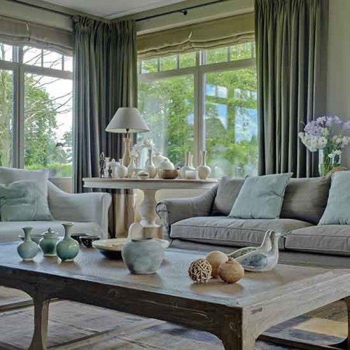 Schöne warme Farben in diesem Wohnzimmer Wohnzimmer Inspiration