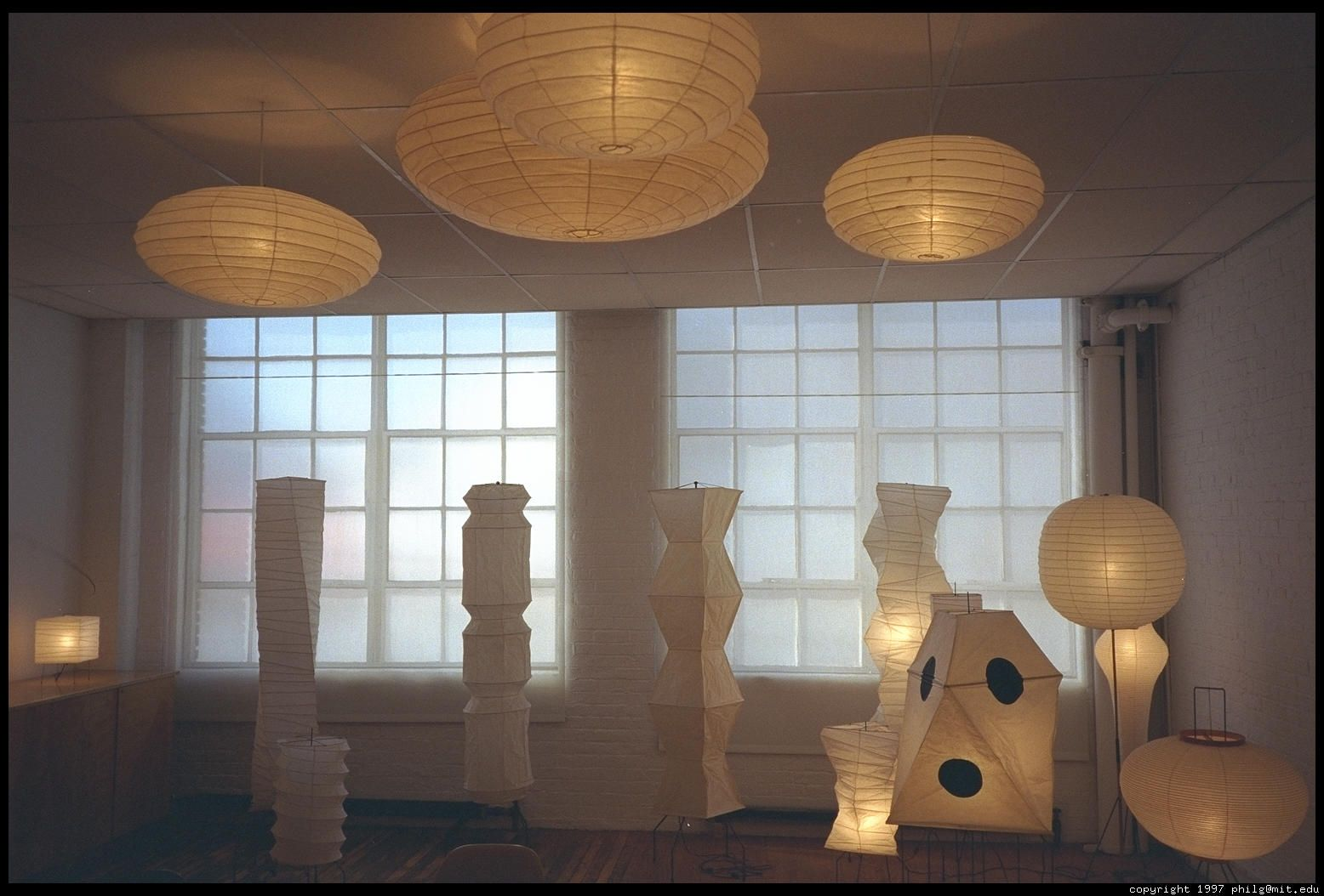 Noguchi lights new casa inspirations pinterest isamu noguchi lamps in the isamu noguchi garden museum long island city queens new york audiocablefo
