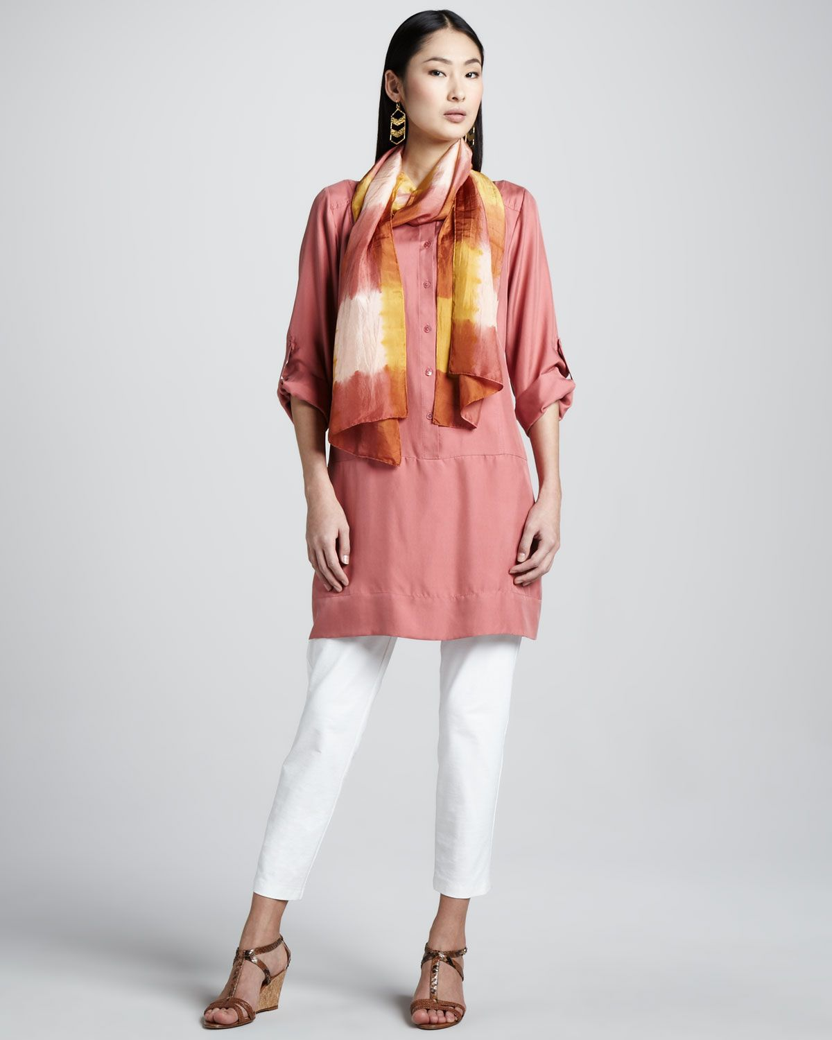 http://ncrni.com/eileen-fisher-slim-ankle-pants-tunic-dress-silk-shibori-scarf-petite-p-9488.html