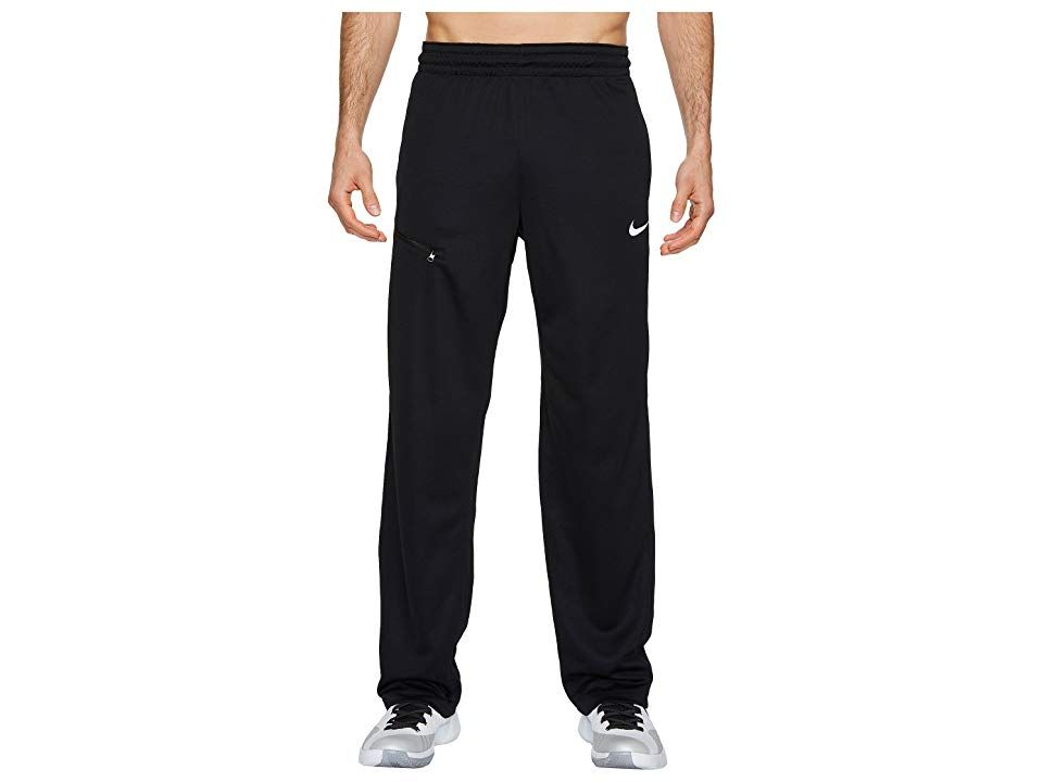 Nike Dry Rivalry Knit Basketball Pant BlackWhite Mens Casual Pants Check out the competition from the sidelines or warm up shooting from downtown in the sleek Dry Rivalry...