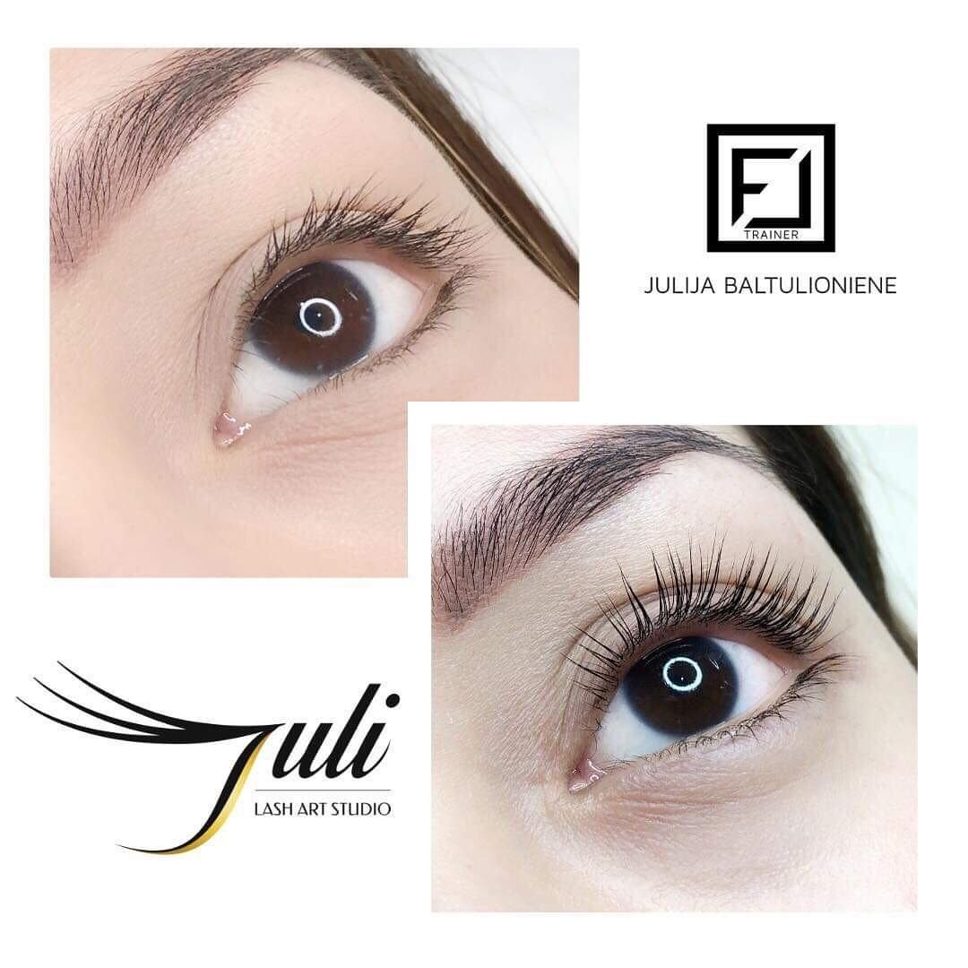 def0b88488a L curl on Asian Eyes 😍 We love it don't we❓ With #lashextensions it's  easy, but with a #lashlift you have to know some tricks.