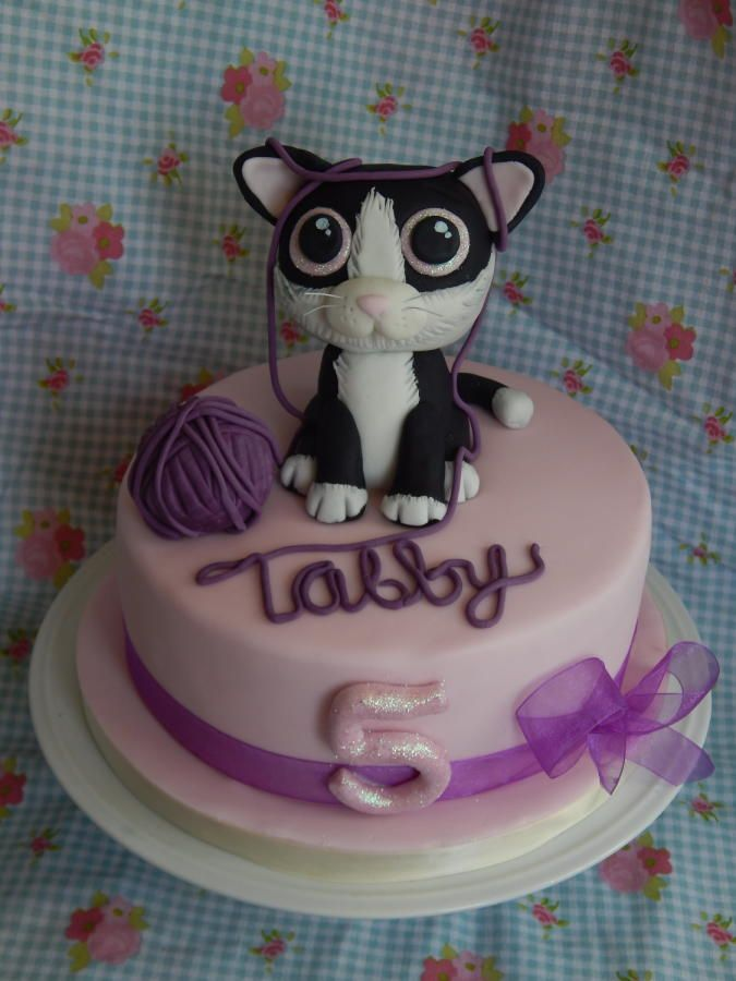 My Little Girls Birthday Cake Cake By Elizabeth Miles Cake Design