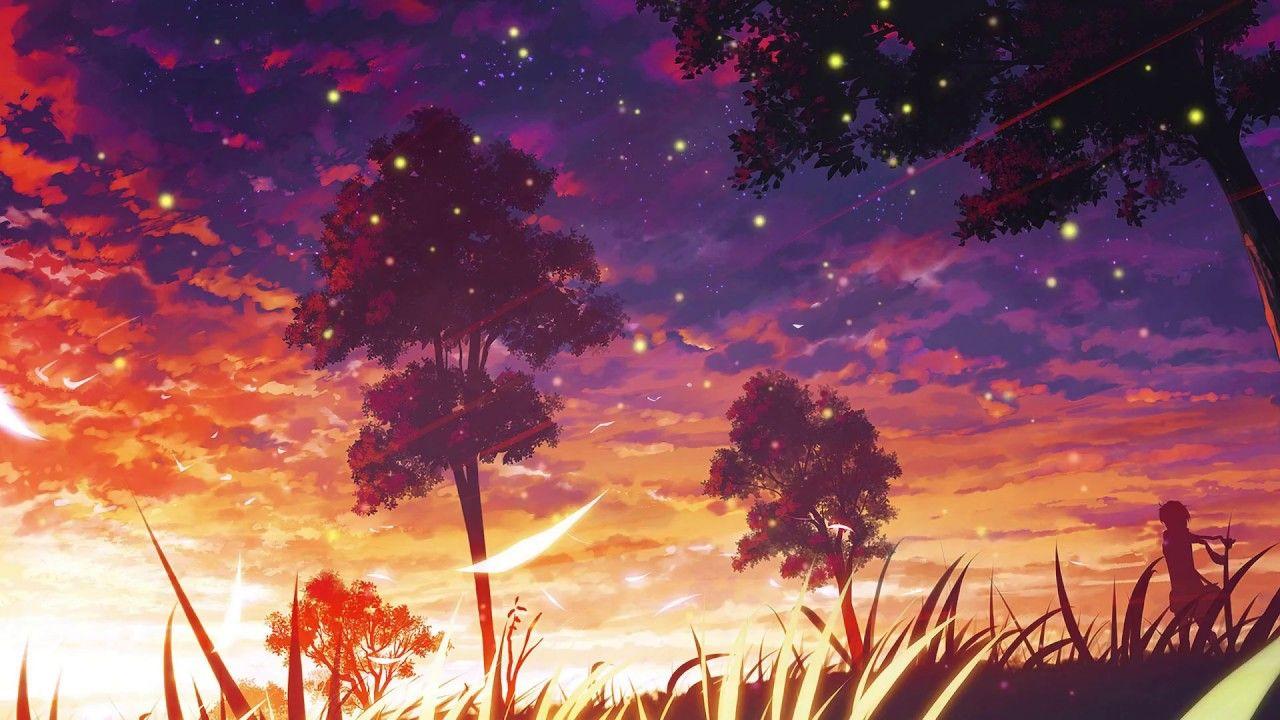Image Result For Lofi Hip Hop Pemandangan Anime Pemandangan Latar Belakang