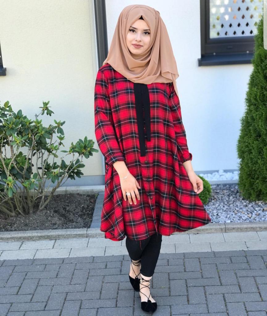 6 Stylish Ways To Wear Check Prints With Hijab