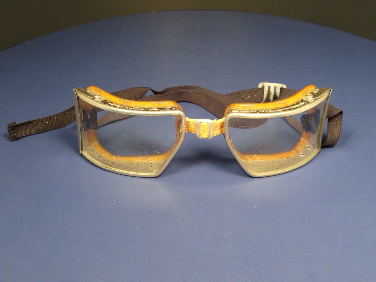 VINTAGE CESCO CHICAGO SAFETY GLASSES MOTORCYCLE , AVIATOR