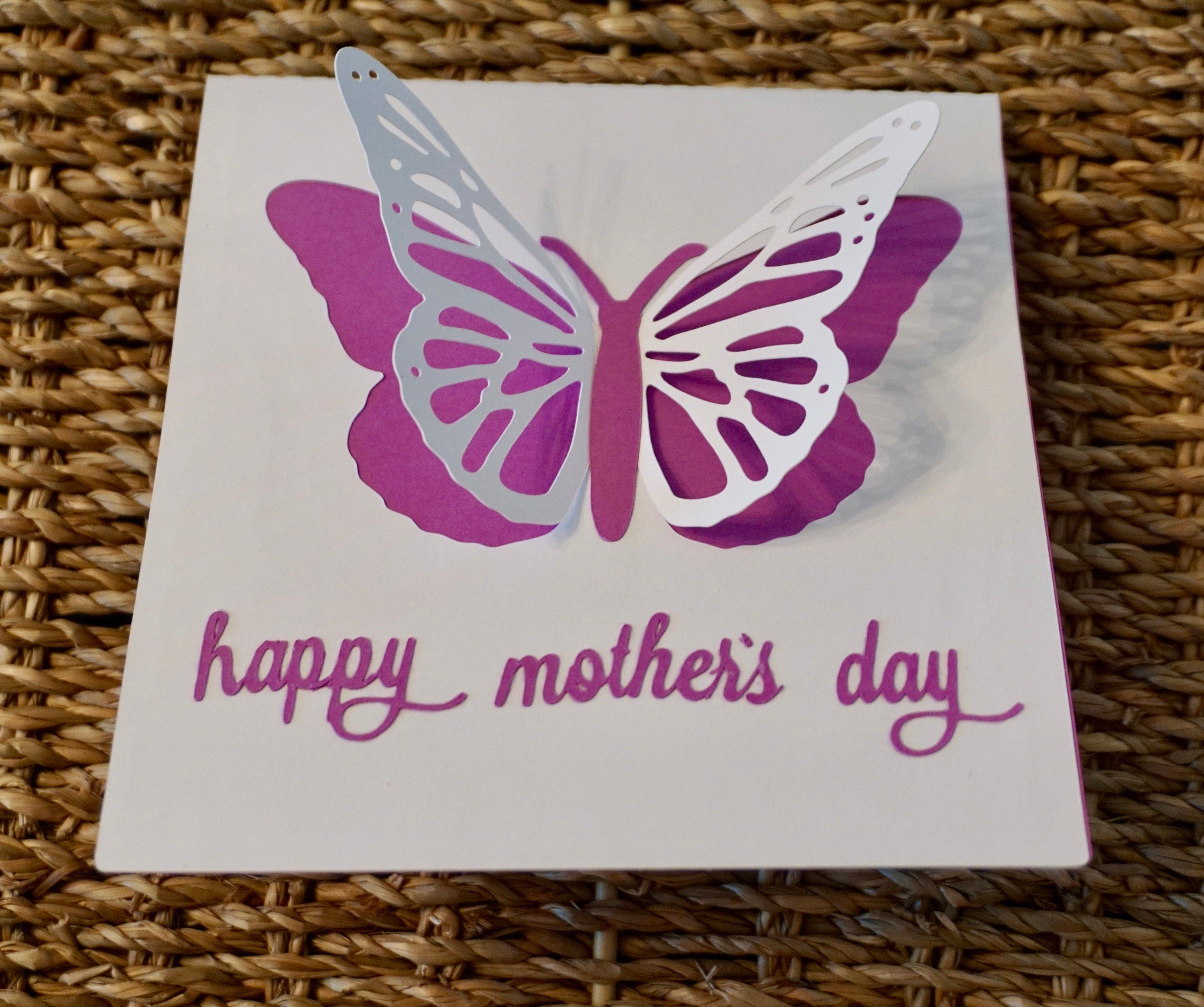 mother's day cards greeting cards butterfly cards fun