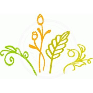 Silhouette Design Store - View Design #63029: leaves and sprouts