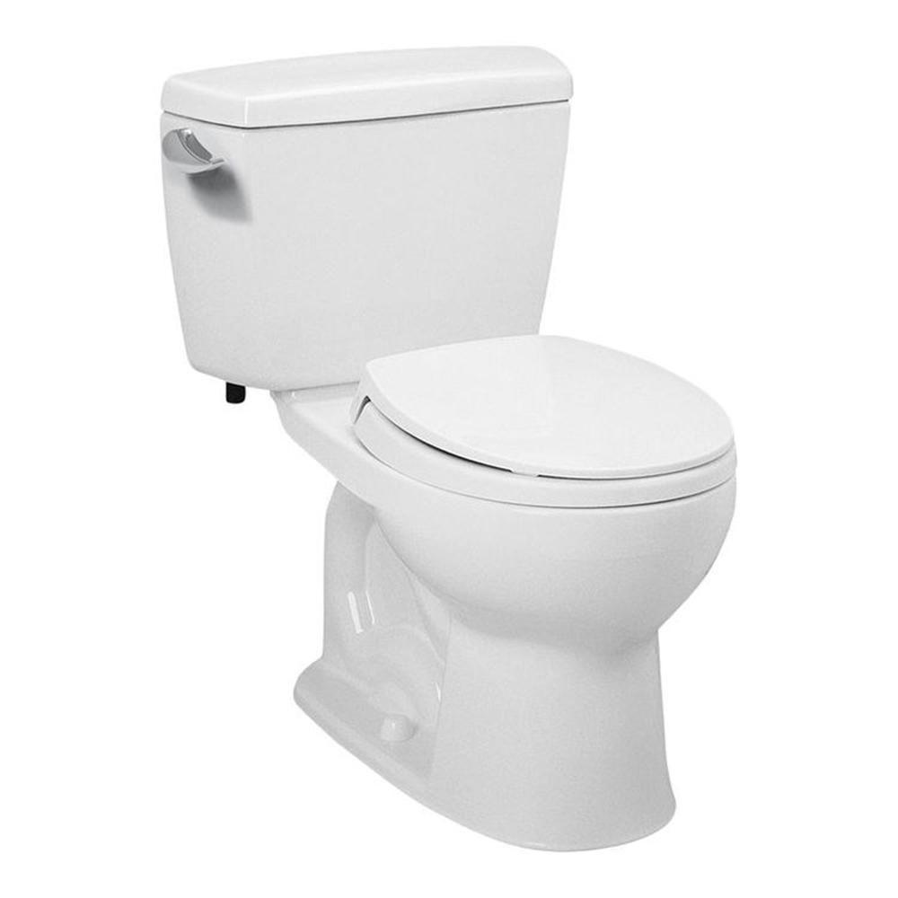 TOTO Drake ADA Compliant 2-Piece 1.6 GPF Single Flush Elongated ...