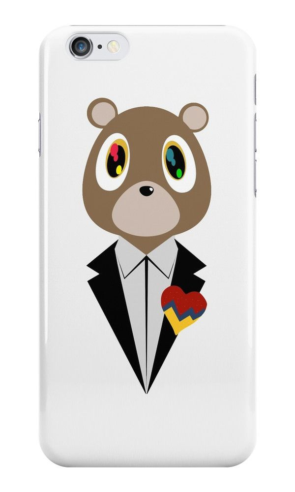 Kanye west dropout bear by skyspeck