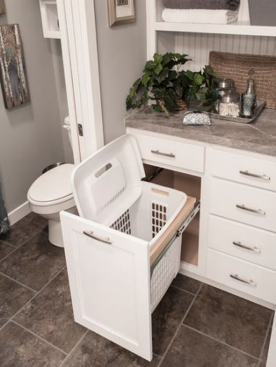 built in laundry hamper pin home design bathroom pinterest hampers