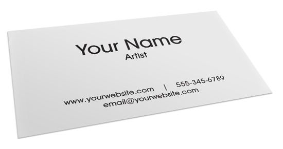 How to make a business card for artists what you need to know the other day i went to an art fair to scope out some of the local talent at art shows like that its so important to have a great business card colourmoves