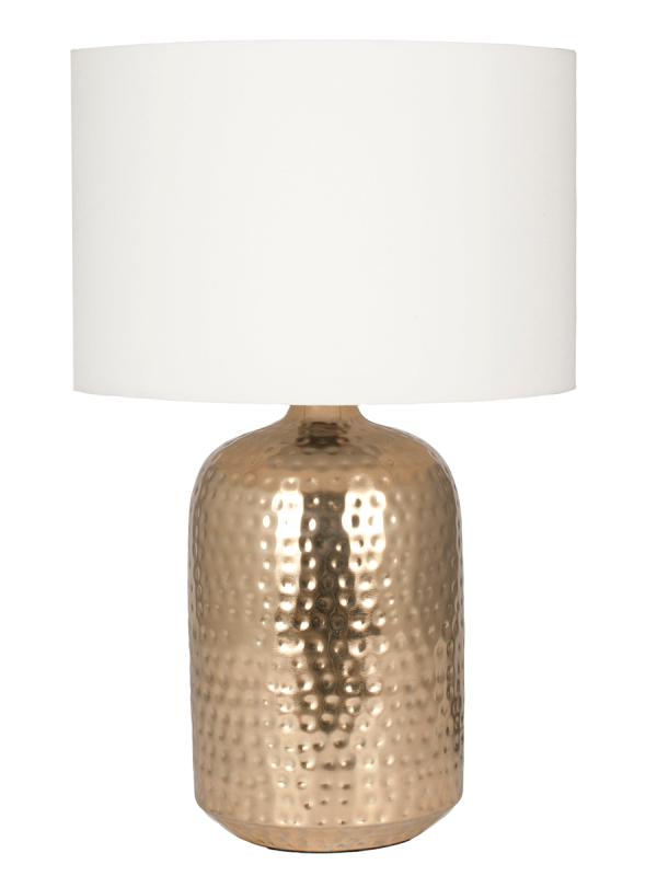 Hammered Table Lamp Brass Dining Room Planning Board Pinterest