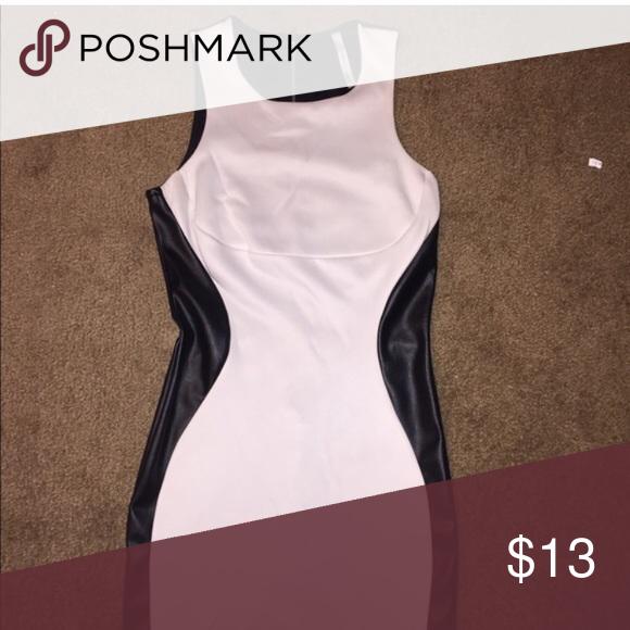 9e89684426c6a Tobi faux leather dress Super cute Tobi Dresses Mini