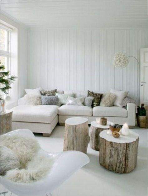 White cozy texture