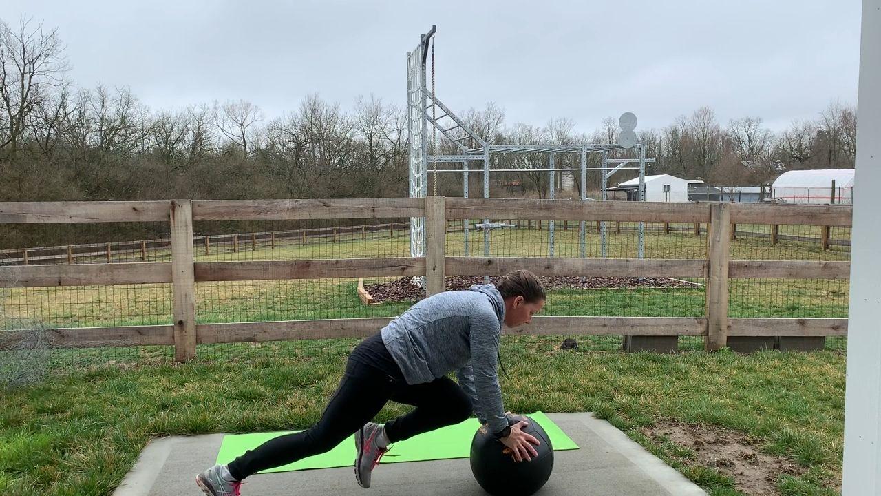 , Outdoor Medicine Ball Workout, Family Blog 2020, Family Blog 2020
