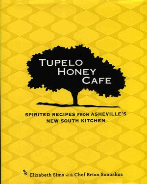 "Tupelo Honey Cafe cookbook    Tupelo Honey Cafe is in one of America's hippest towns: Asheville, N.C., and with the promise of delivering ""Southern comfort"" food that is ""made from scratch, sassy and scrumptious"" and can be ordered from Amazon.com"