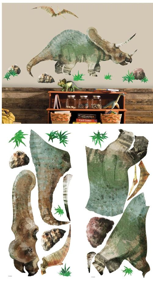 New Dinosaur Giant Wall Decal   Wall Sticker Outlet