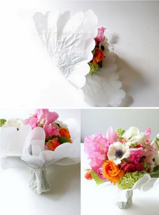 how to make a french hand-tied bouquet ....great thing to do with ...