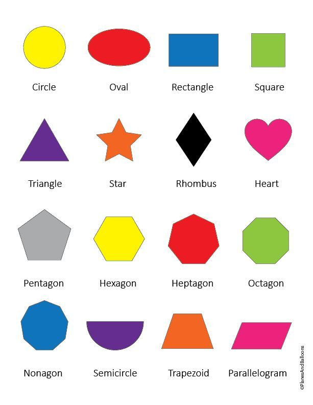 Shapes images with names practice sheets Name, write & color is part of Shapes kindergarten, Shapes preschool printables, Teaching shapes, Shape activities preschool, Shapes preschool, Writing practice preschool - These colorful shapes images are an excellent addition to your teaching shapes file  Several options for children to learn and practice their shapes