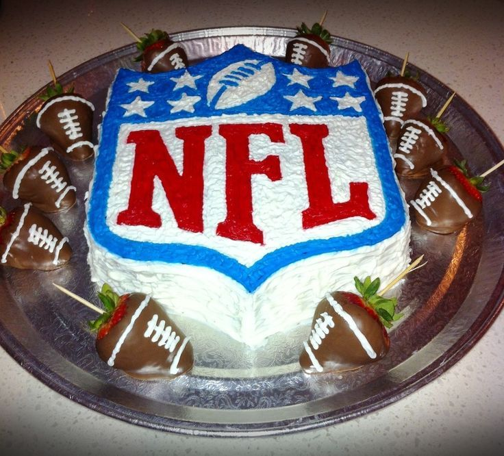 Nfl Football Birthday Cake Cake Design Ideas ad Cakes