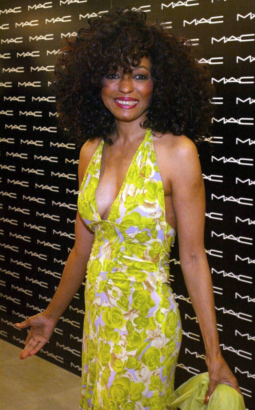 Diana Ross at the Launch of the Diana Ross Collection as