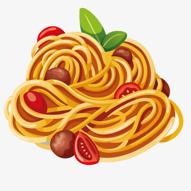 Delicious Pasta Delicious Spaghetti Cartoon Png Transparent Clipart Image And Psd File For Free Download Food Illustration Design Food Illustrations Food Drawing