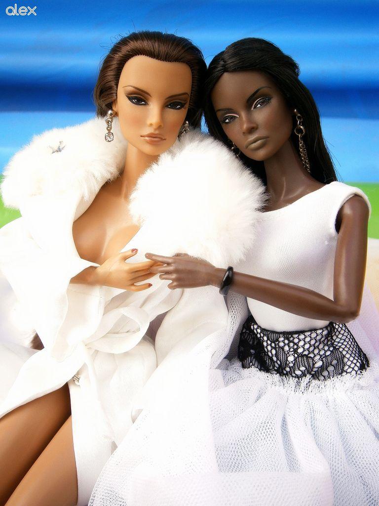 lesbian Black barbie