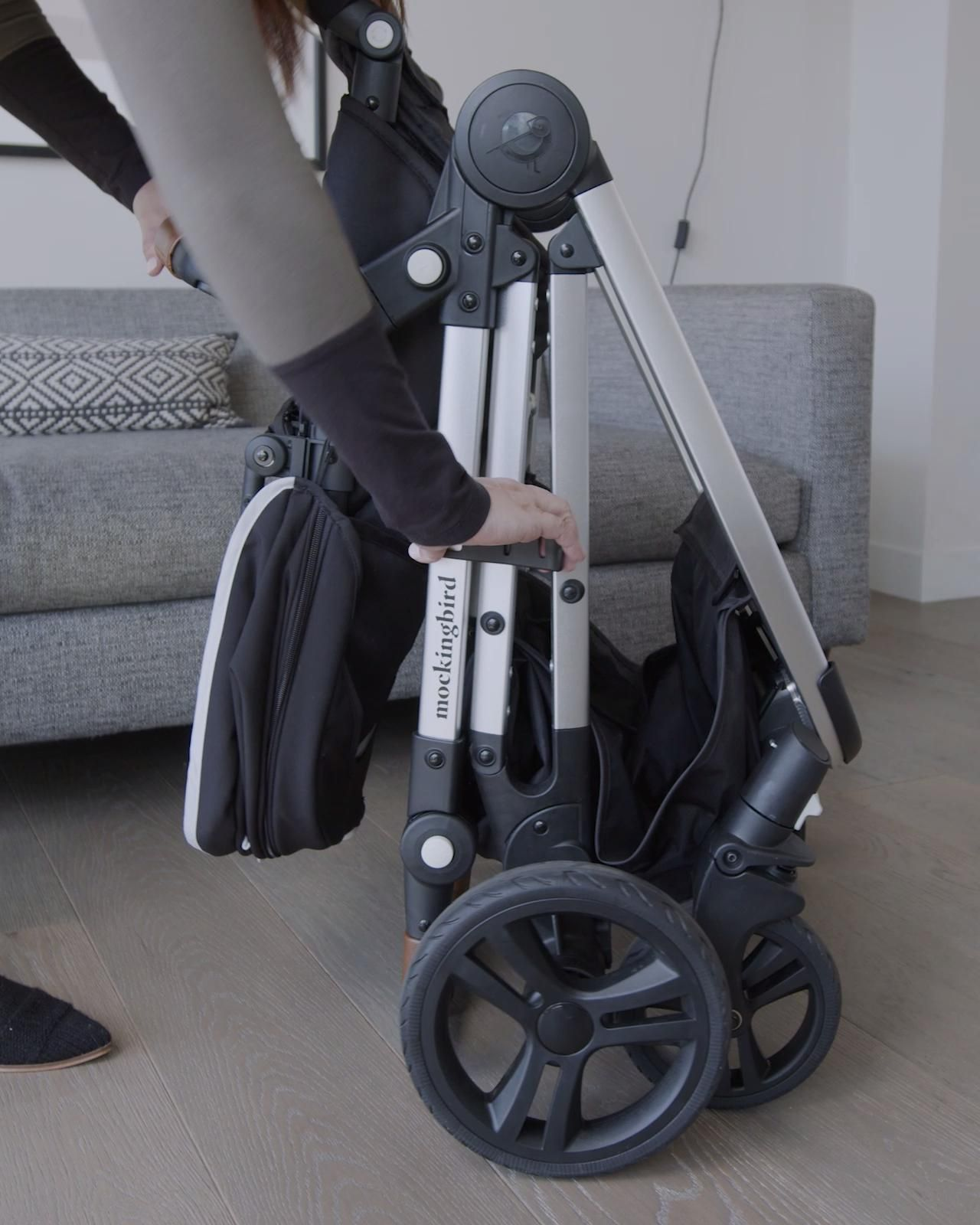 Mockingbird's Single-to-Double Stroller Effortlessly Transforms For You and Your Family