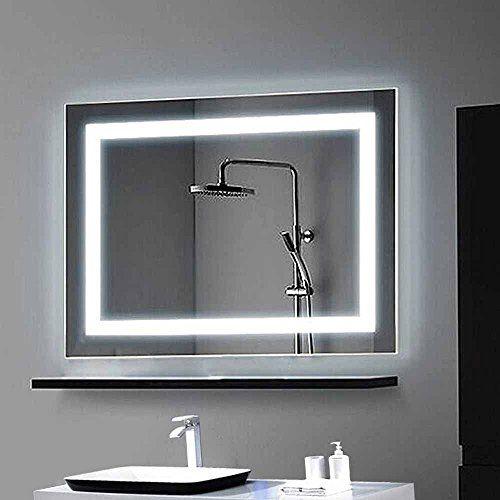 Decoraport Horizontal LED Wall Mounted Lighted Vanity Bathroom