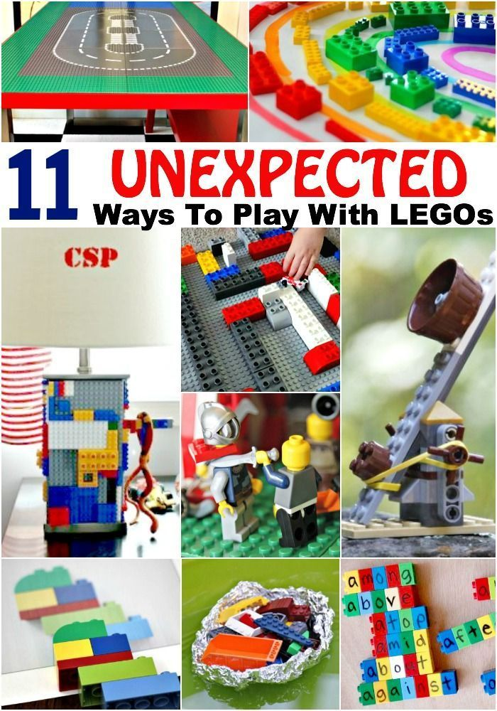 11 Unexpected Ways To Play With Legos Lego