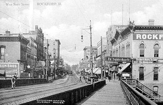 Rockford,, IL.West State St