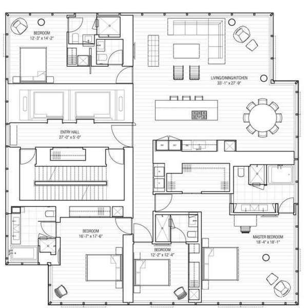 One Madison Floor Plans Google Search Floor Plans One Madison How To Plan