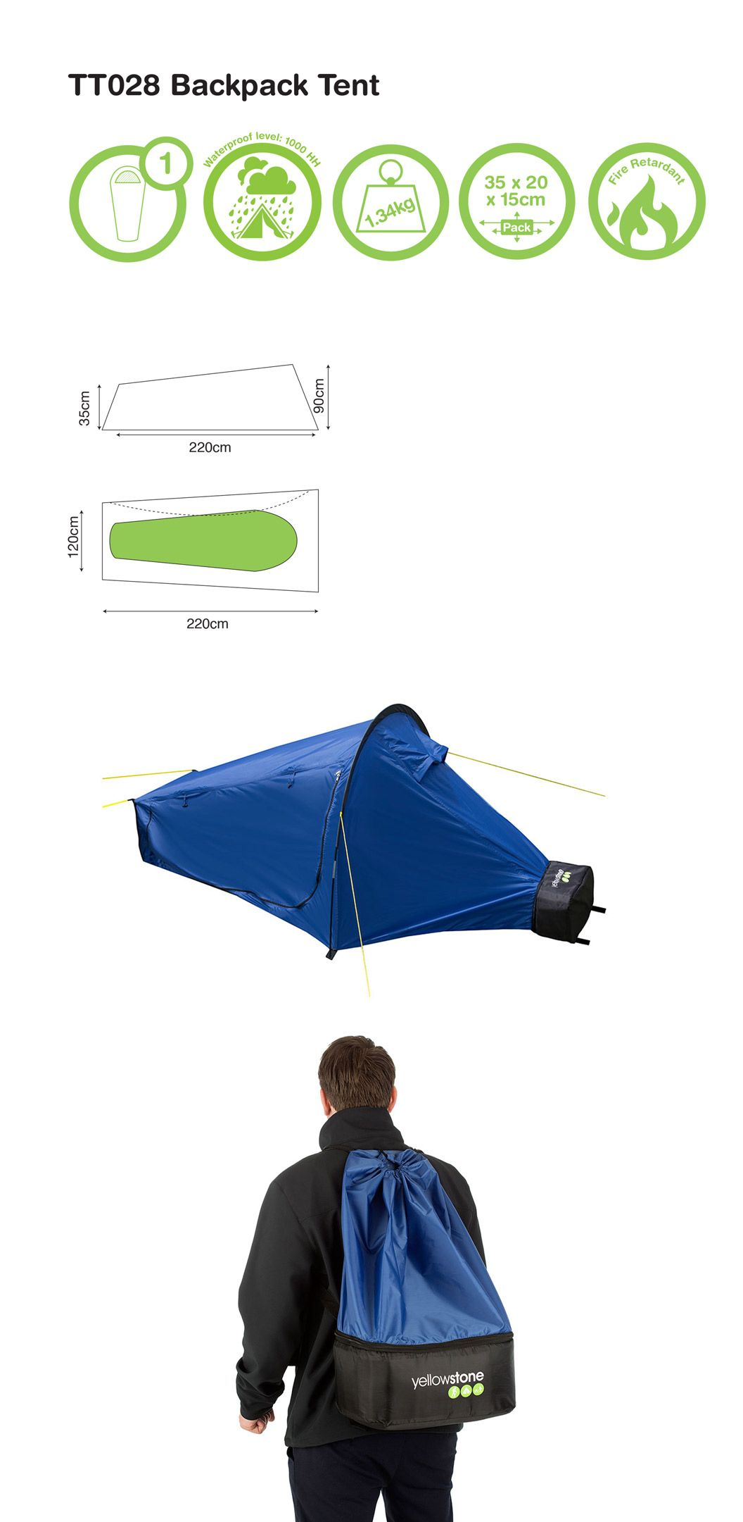 Yellowstone Backpack Tent. Ideal for hiking and backpacking converts from backpack to tent.  sc 1 st  Pinterest & Yellowstone Backpack Tent. Ideal for hiking and backpacking ...